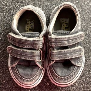 Sperry Top Sider baby shoes with Velcro
